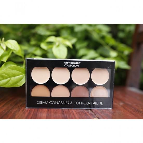 City Color Cream Concealer and Contour Palette