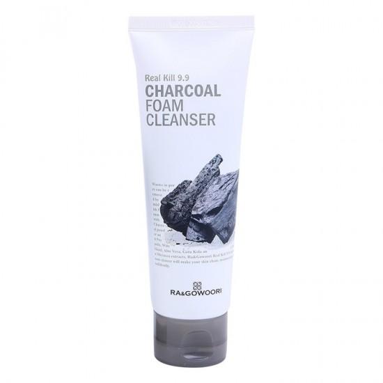 Ra and Gowoori Foam Cleanser 120 ml - Charcoal