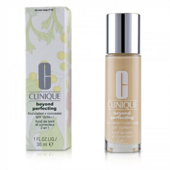 Clinique Beyond Perfecting Foundation and Concealer - 63 Fresh Beige