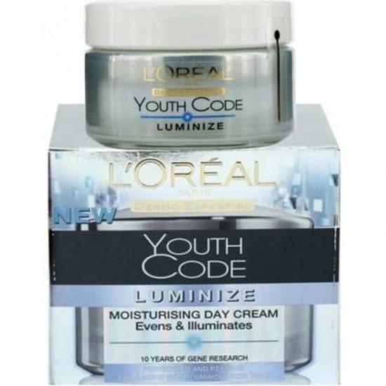 L'Oréal Paris Youth Code Luminize Moisturising Day Cream