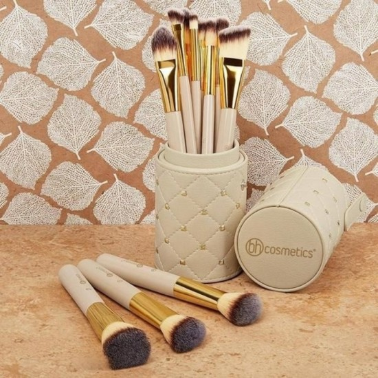 BH Cosmetics Studded Couture – 12 Piece Brush Set