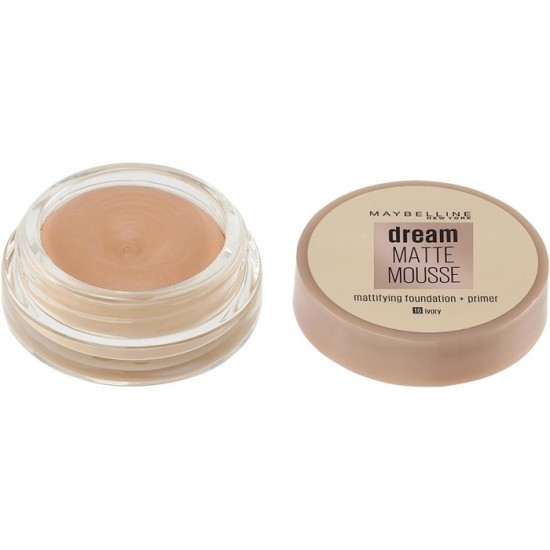 Maybelline Dream Matte Mousse Foundation - 10 Ivory