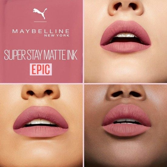 Maybelline Superstay Matte Ink Lip Color - 10 Epic