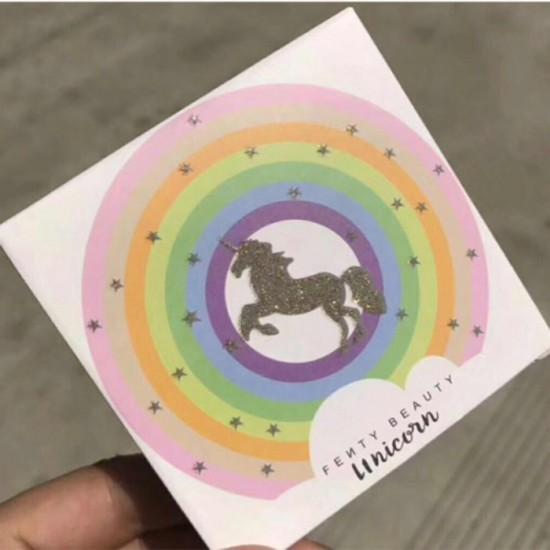 Fenty Beauty Unicorn Rainbow Eyeshadow and Highlighter
