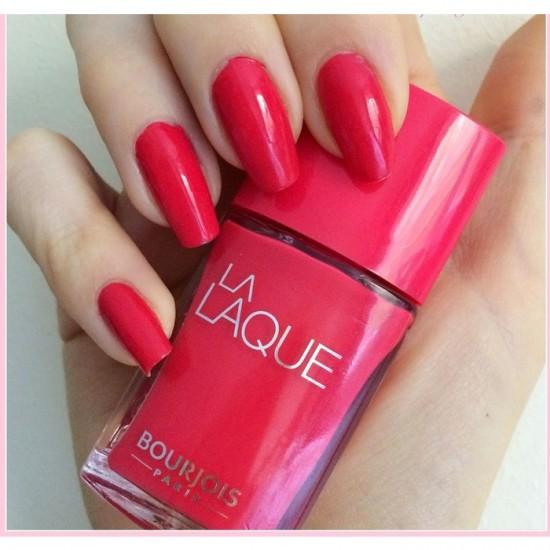 Bourjois La Laque Gel Nail polish - 4 Flambant Rose