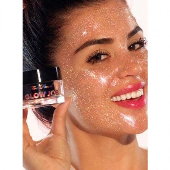 Too Faced Glitter Glow Job Mask - Pink Tiara
