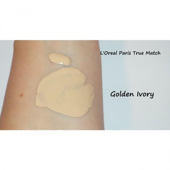 L'Oreal True Match Super Blendable Foundation - 1.D/1.W Golden Ivory