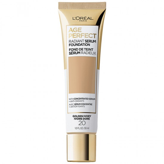 L'Oreal Age Perfect Radiant Serum Foundation SPF 50 - 20 Golden Ivory