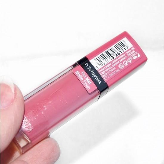 Bourjois Rouge Edition Velvet Lipstick - 11 So Hap Pink