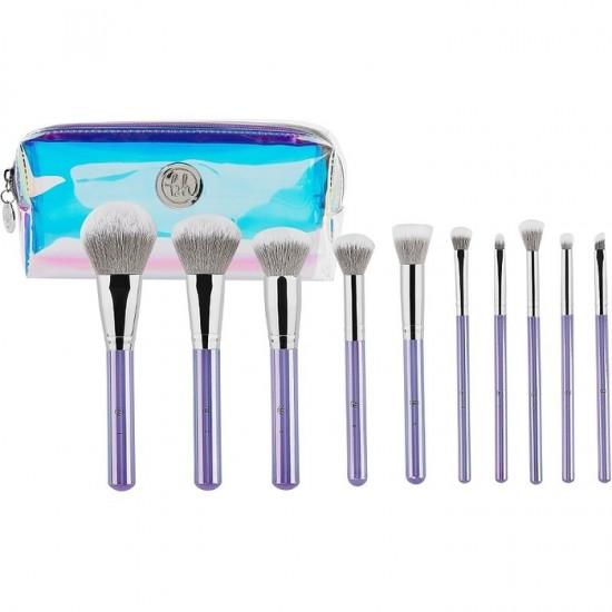 BH Cosmetics Hello Holo - 10 Pieces Brush Set