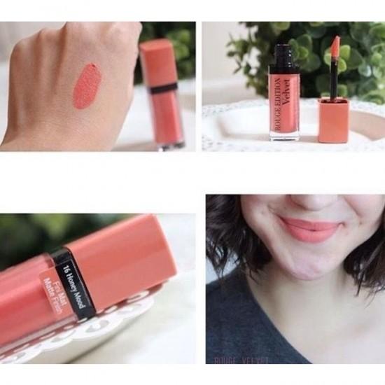 Bourjois Rouge Edition Velvet Lipstick - 16 Honeymood
