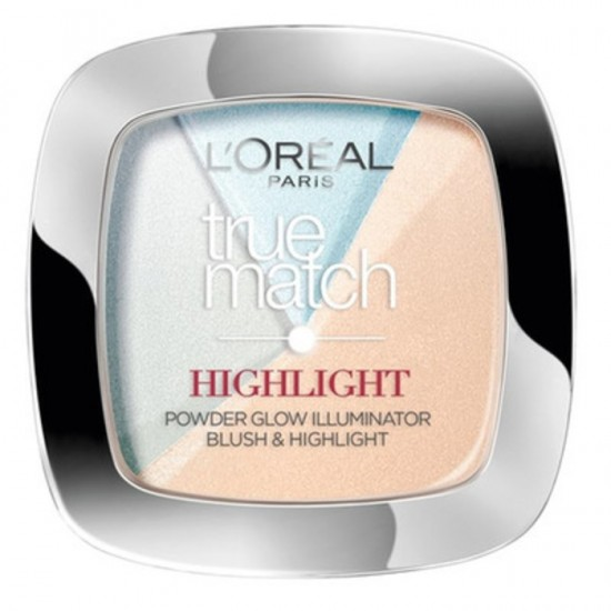 L'Oreal True Match Powder Highlighter - 302 R Icy Glow