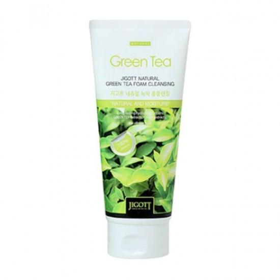 Jigott Natural Foam Cleanser 180 ml - Green Tea