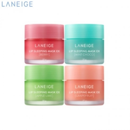Laneige Lip Sleeping Mask Mini Kit - 4 Scented Collections