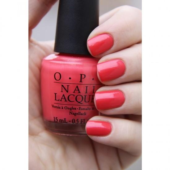 OPI Nail Color - I Eat Mainly Lobster