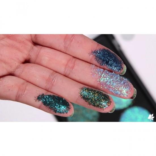 Technic Pressed Glitter Palette - Mermaid