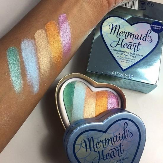 Makeup Revolution Mermaid's Heart Baked Highlighter