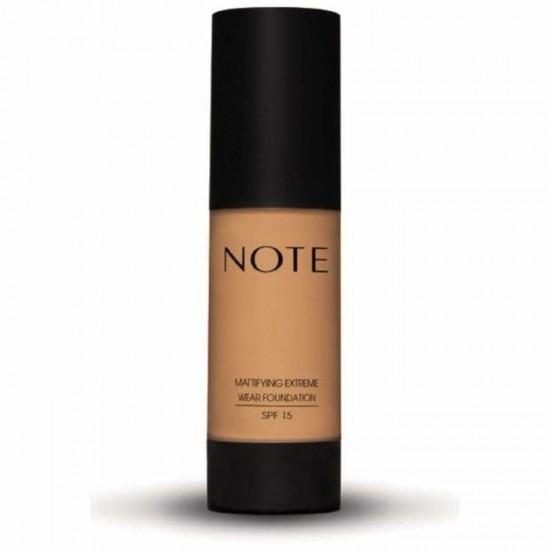 Note Mattifying Extreme Wear Foundation - 02 Natural Beige