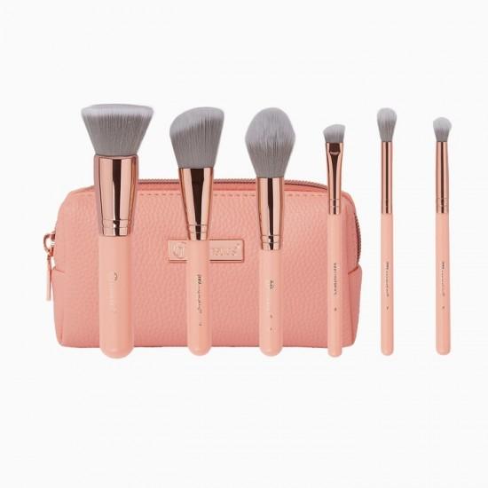 BH Cosmetics Petite Chic - 6 Piece Mini Brush Set