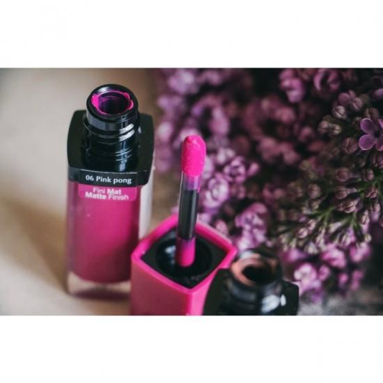 Bourjois Rouge Edition Velvet Lipstick - 06 Ping Pong