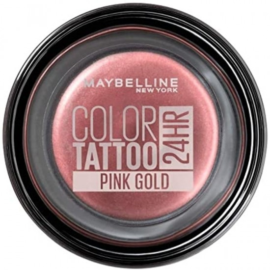 Maybelline 24H Color Tattoo Eyeshadow - 65 Pink Gold