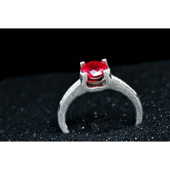 Reina Ruby Zircon Ring