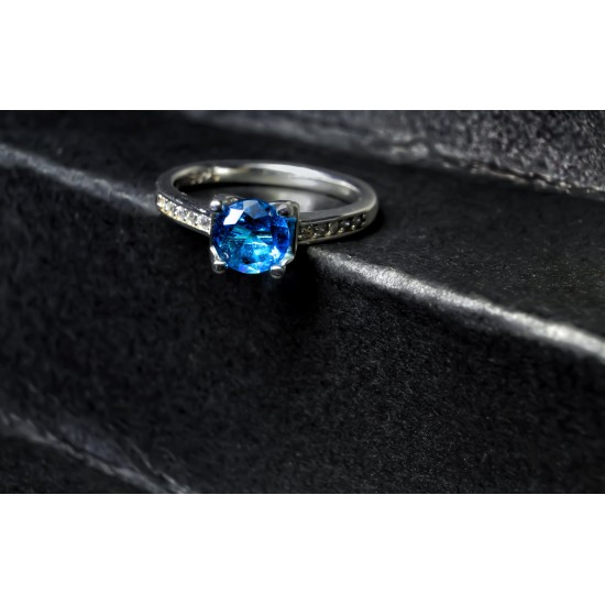 Reina Sapphire Zircon Ring