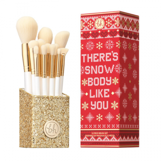 BH Cosmetics There's Snowbody Like You - 12 Piece Brush Set