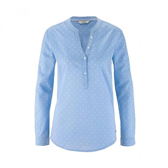 Women Blouse 008 - Mid Blue