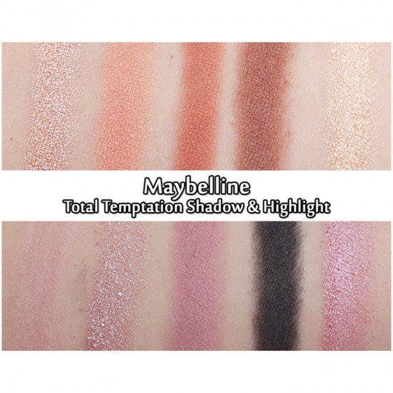 Maybelline Eye Shadow Palette Total Temptation