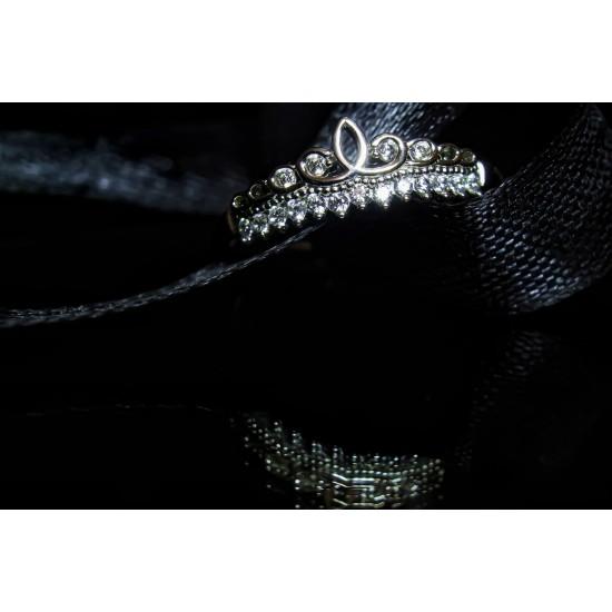 Reina Silver Tiara Ring