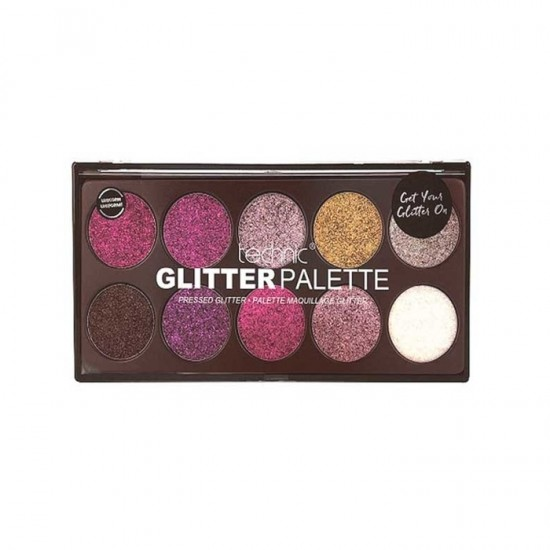 Technic Pressed Glitter Palette - Unicorn