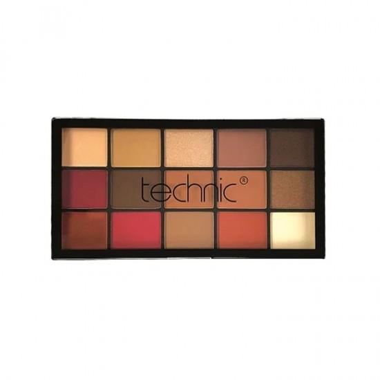 Technic 15 Eye Shadows Palette - Urban Jungle
