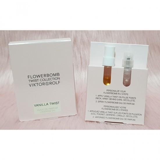 Viktor and Rolf Flowerbomb EDP Vanilla Twist Layering Oil For Women Travel Size