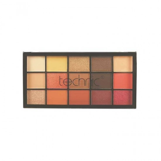 Technic 15 Pressed Pigments Eye Shadow Palette - Venus Rising
