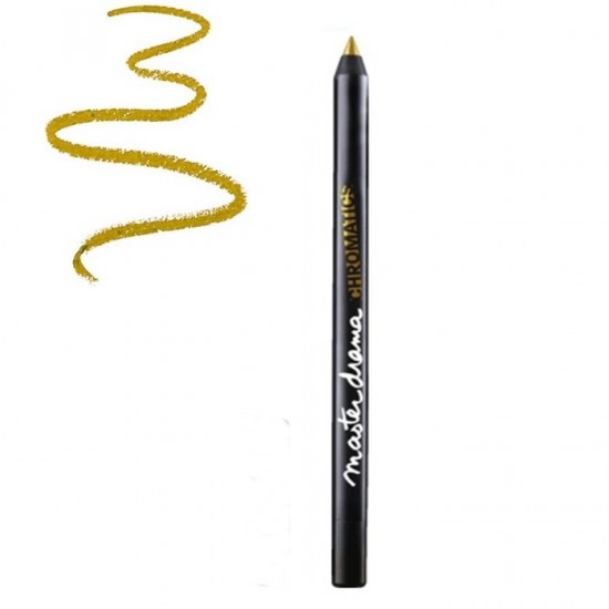 Maybelline Master Drama Chromatics Eye Liner - Vibrant Gold