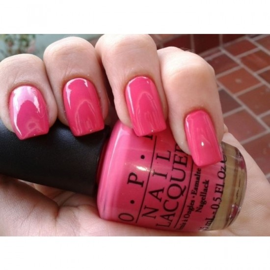 OPI Nail Color - Feelin' Hot Hot Hot