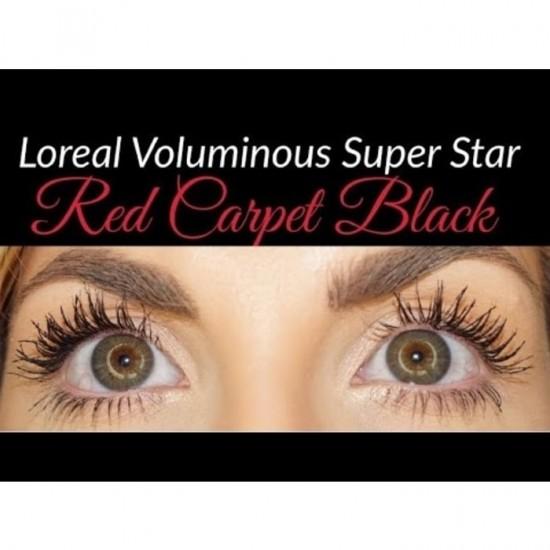 L'Oreal False Lash Superstar Mascara Red Carpet - Black